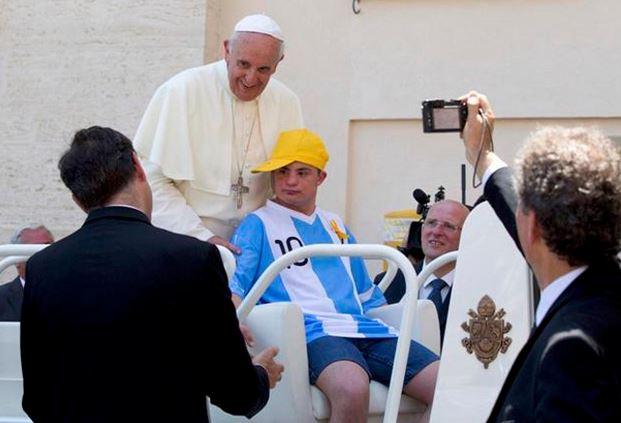 Pope Francis invited Alberto di Tullio