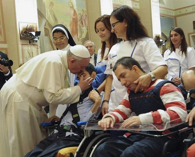 Pope Francis redirected employee bonuses to charity