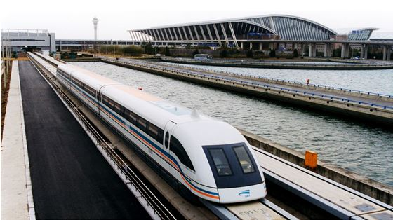 Shanghai Maglev Train, Fastest train in the world