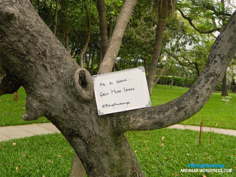 Abki bar grow more trees