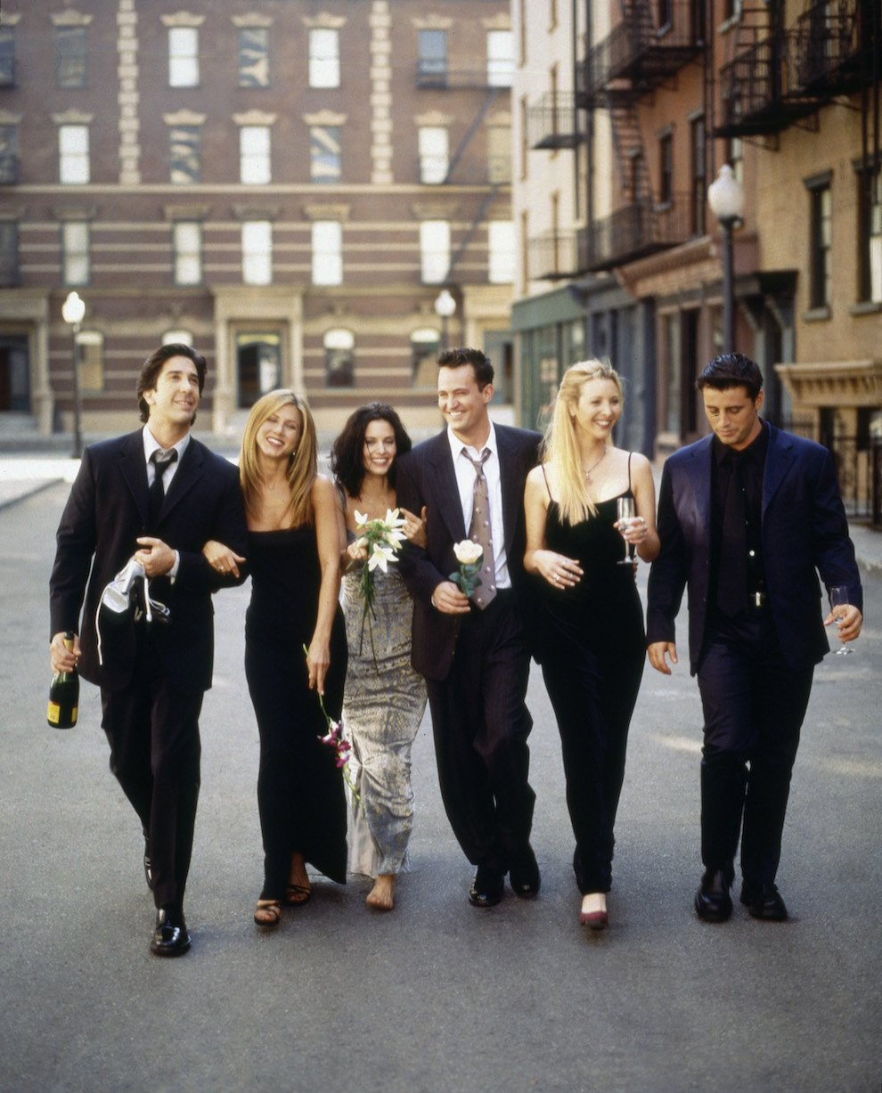 "The Cast Of My Best Friend S Wedding: 27 Rare Photos Of The Cast Of ""Friends"" That Will Make You"