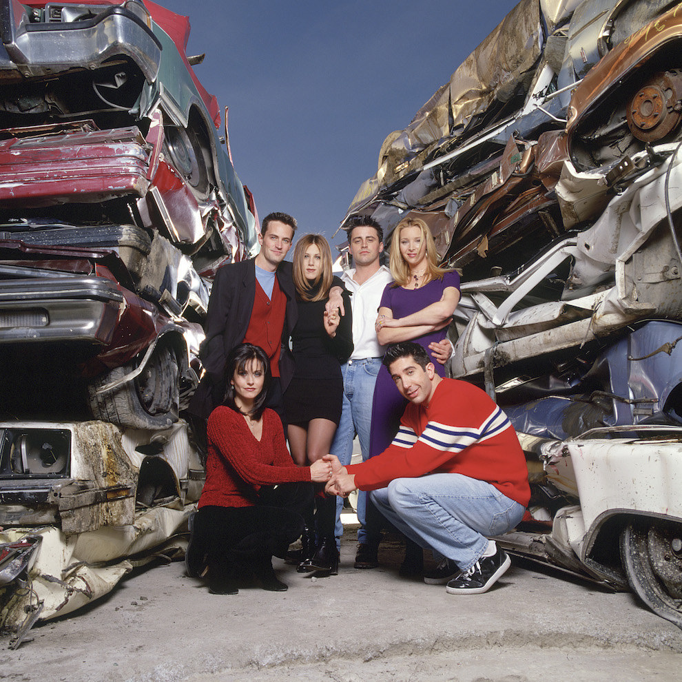 You know what says true friendship? Junk cars.
