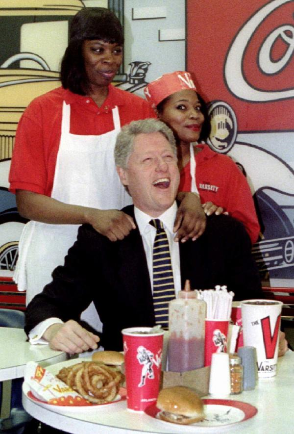 bill clinton, pol stuffing, united states politicians, crazy photos, gut busting