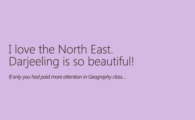 north east, comment to north east, descrimination, racism in india, indian social structure