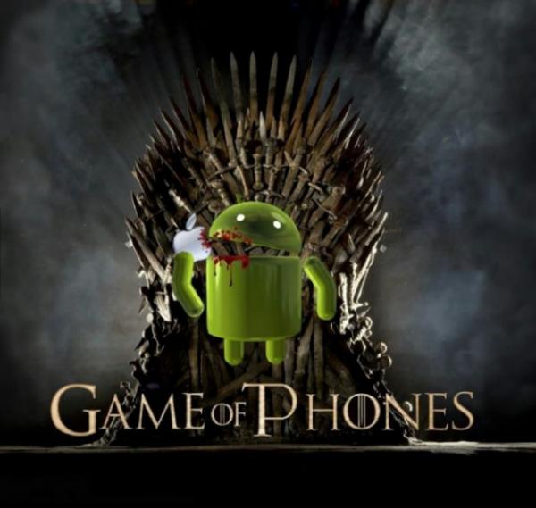 apple,blackberry,game of phones,game of thrones,android,windows phone,house lannister,house baratheon,house stark,house targaryen