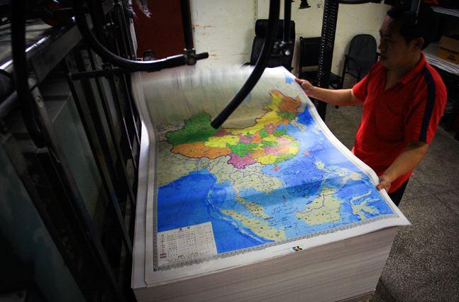 china, india, india vs china, arunachal pradesh, china claim in arunachal, xinhua, wsj, new chinese map, hunan map press, Hamid Ansari, Panchsheel agreement
