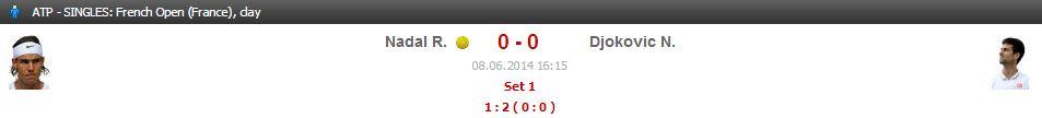 French open, french open final 2014, tennis, nadal, djokovic, winner of french open final, clay,Novak Djokovic,rafal nadal