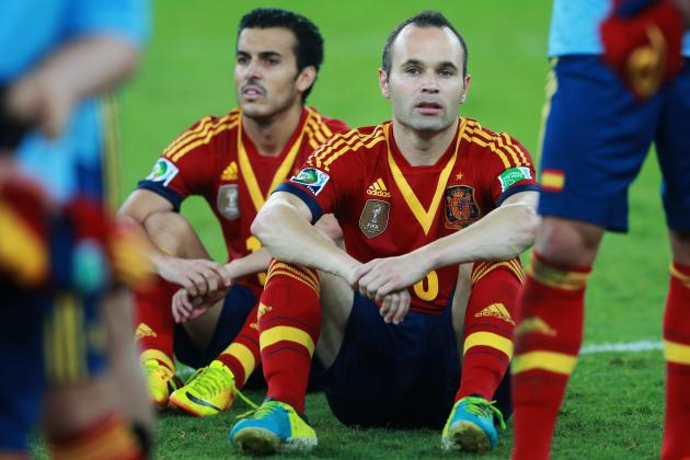 spain out of world cup2014