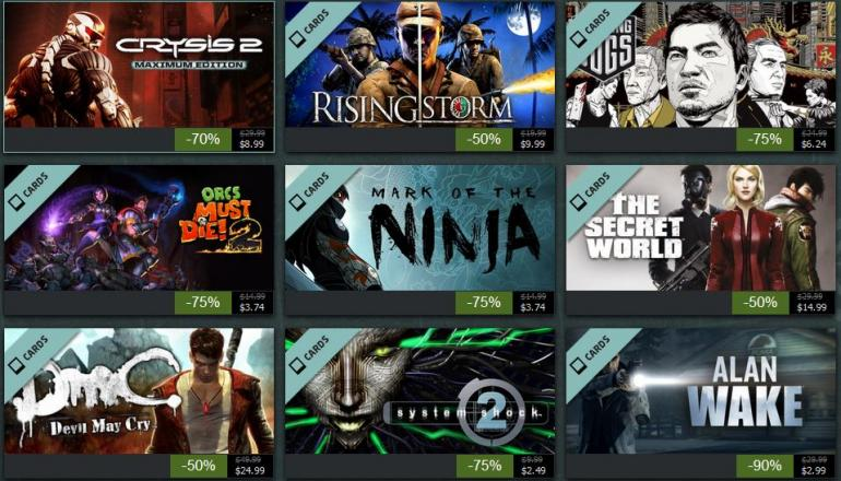 steam,steam sales,Steam Summer Sale,gamer,Don't Buy From the Catalog,discount,Don't Rush to Buy Anything,Use Your Wish List,daily deals,Check Flash Sales First,Dead Island: Riptide, DmC: Devil May Cry, Hotline: Miami, Mirror's Edge,trading cards,flash sales