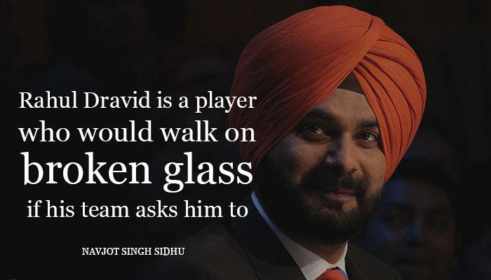 rahul dravid,true gentlemen,Rahul Dravid on Patience,respect,brett lee,ian channel,chris gayle,brian lara,steve waugh,matthew hayden,navjot singh sidhu,harsha bhogle
