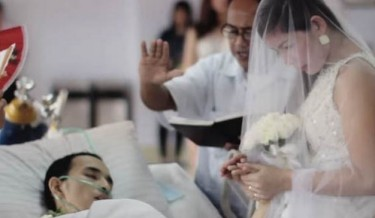 true love, love never died, emotional wedding, cancer patient got married and died, Inspiring Love Story, asian wedding, emptiness and sadness, love is immortal, love never dies, inspirational videos, romantic videos, inspirational story, true story