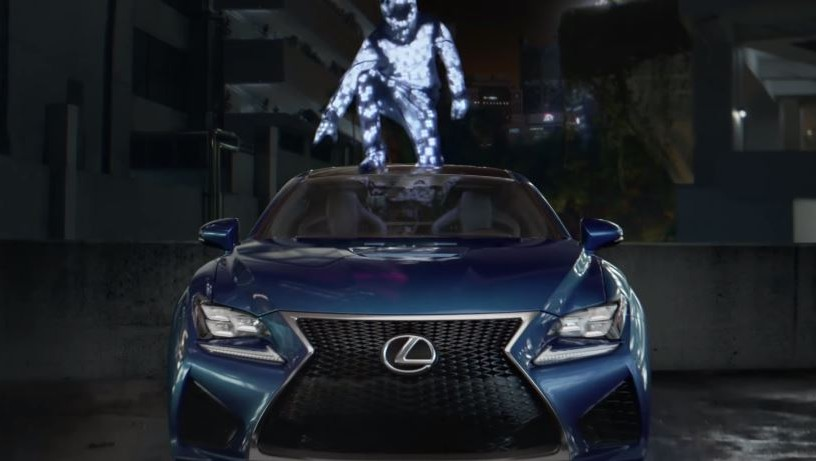 amazing in motion strobe by lexus best car commercial. Black Bedroom Furniture Sets. Home Design Ideas