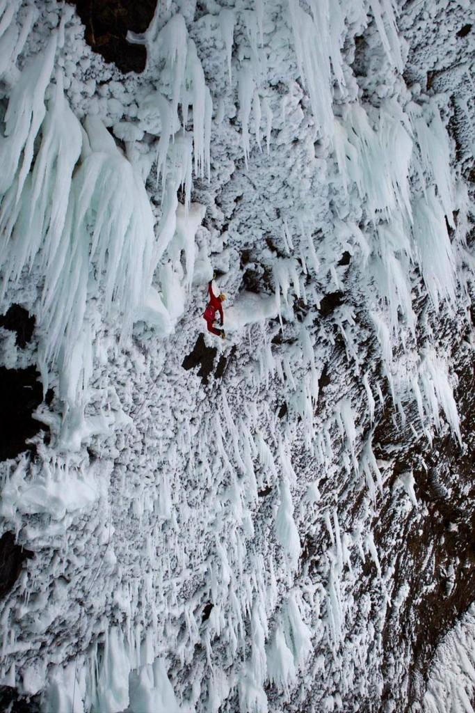 Iranian ice climbing