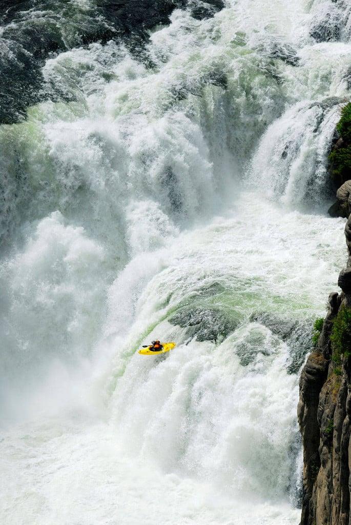 White water kayaking in Chile.