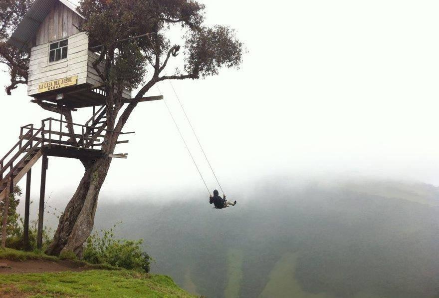 Swinging at La Casa Del Arbol