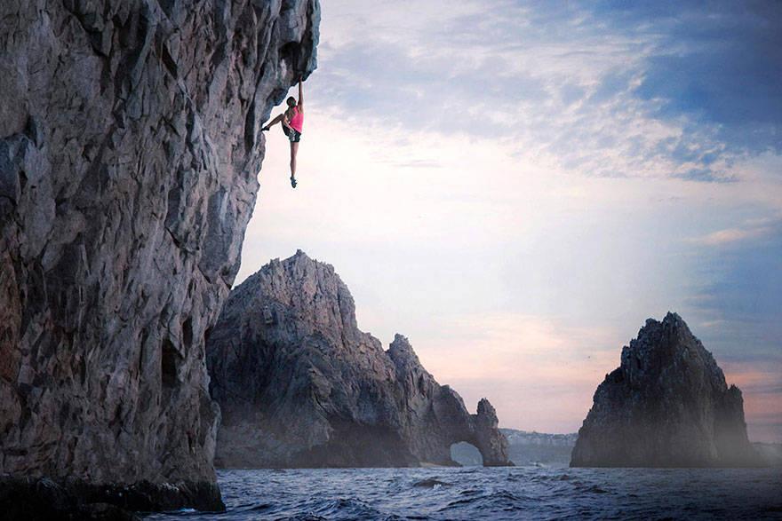 Climbing in Cabo San Lucas