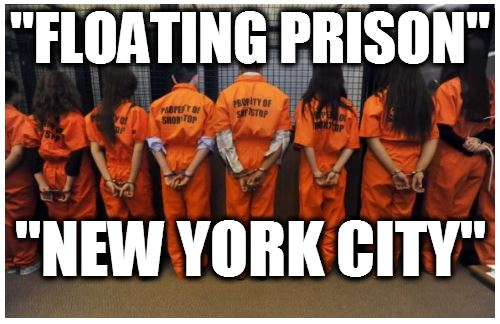 "World's Largest ""Floating Prison"" in New York City ..."