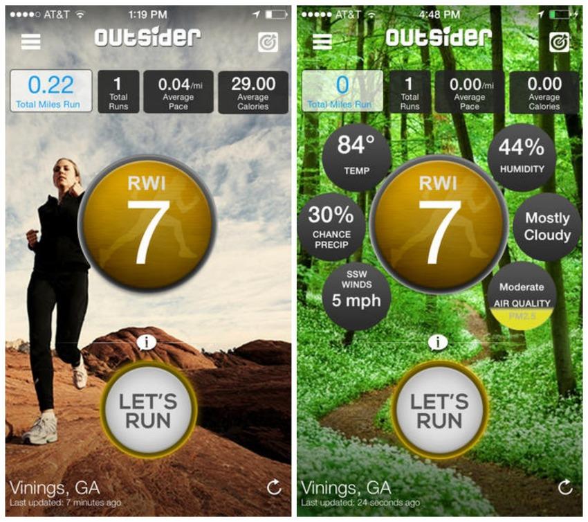 outsider, outsider app