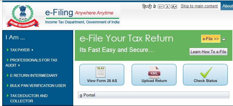Eligibility for Income Tax