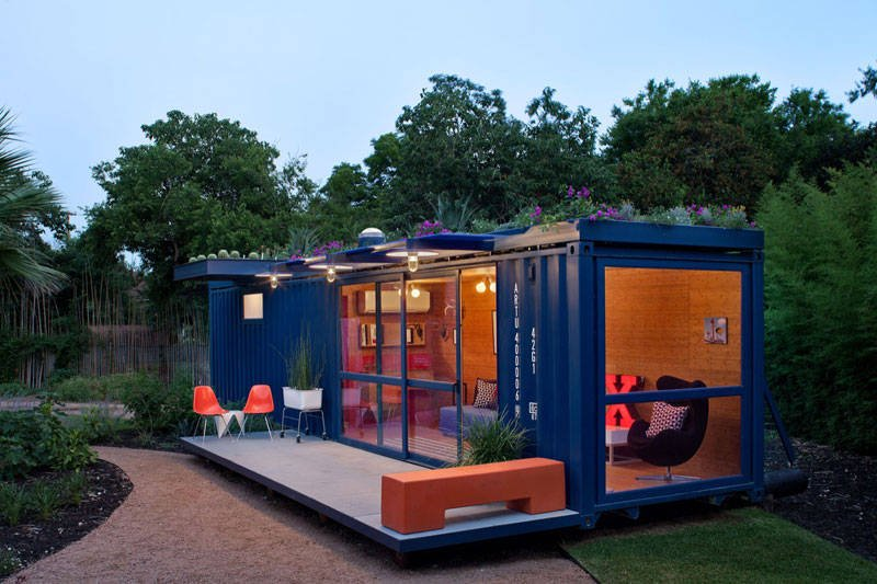 Use of Old Shipping Container 2