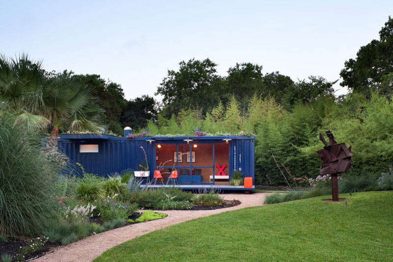 Use of Old Shipping Container 7