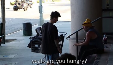 help people, humanity video, inspirational video, motivational video, save humanity, save humanity video, the power of giving, must see, must watch, cool video, prankster, social experiment, give a pizza to a homeless man, food for homeless men, emotional video, hungry man, food given to hungry people, social experiment by asking pizza, viral video, social experiment prank, social experiment of asking for food