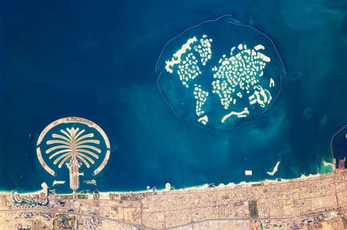 3. Dubai has man-made Palm Island and The World Island