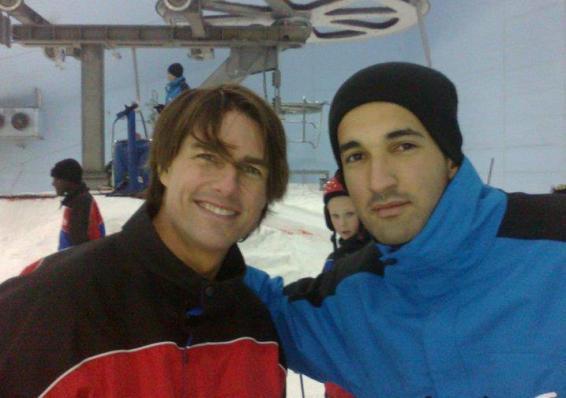 6. Dubai has an indoor ski resort that celebrities visit often