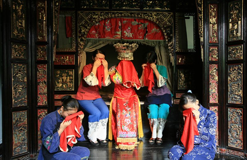 The Weirdest Wedding Traditions In The World: Tearful Wedding Traditions Of Tujia