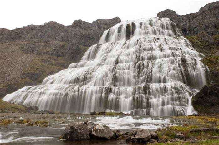 Dynjandi Waterfalls, Iceland