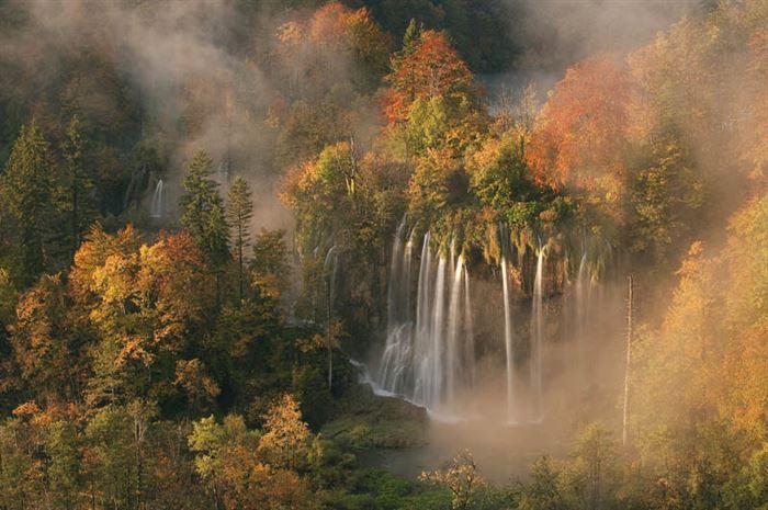 Plitvice Lakes Waterfalls, Croatia
