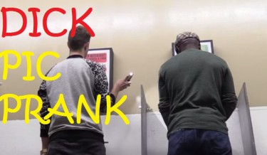 "Prankster Takes ""PENIS PICS"" of Strangers in Public Urinal"