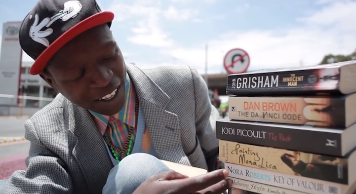 photo, video, pavement bookworm, philani dladl, south african homeless man, inspiring south african, inspiring homeless man, helping children, bookworm, johannesburg man, book ambassador, inspiring story, inspirational drug addict