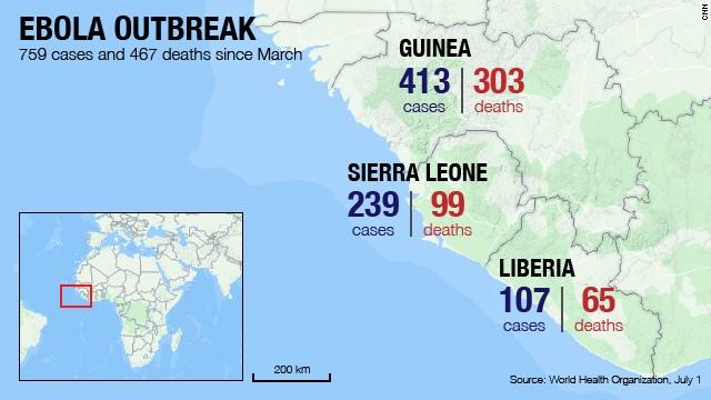 World Health Organization, health emergency, Guinea, Liberia, and Sierra Leone, ebola virus, epidemic, infectious disease