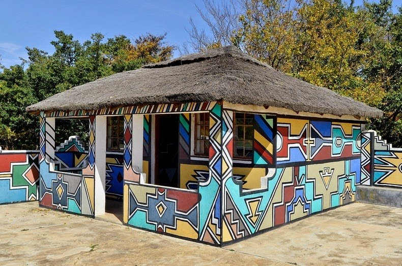 ndebele house painting 1