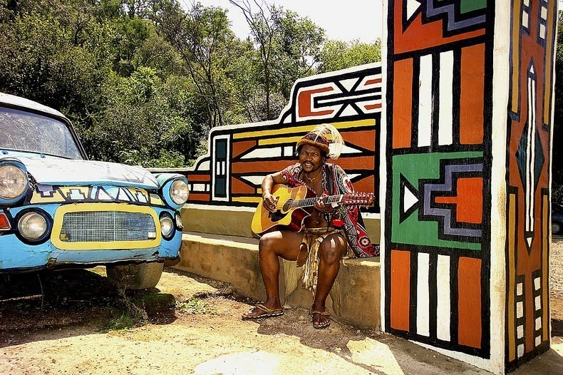 ndebele house painting 10