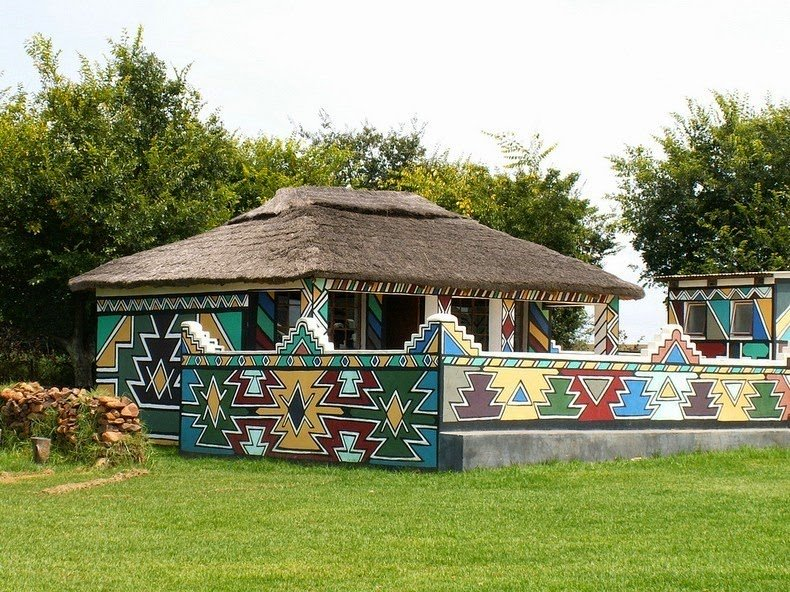 ndebele house painting 12