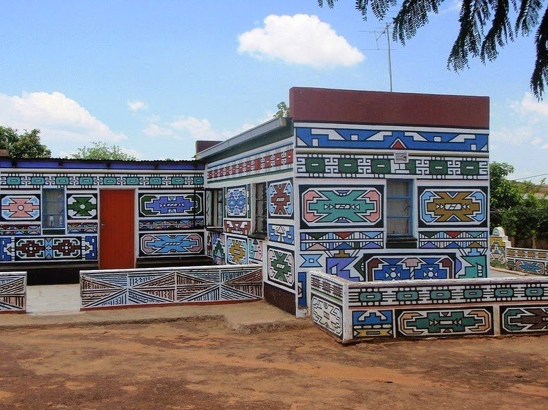 ndebele house painting 13