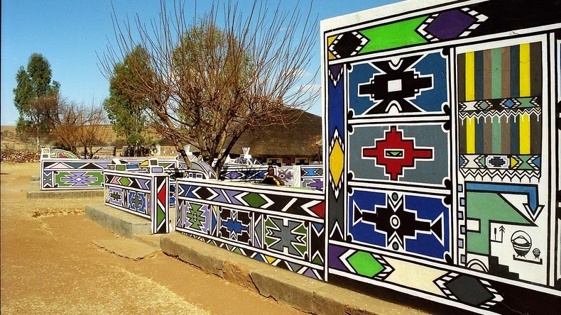 ndebele house painting 15