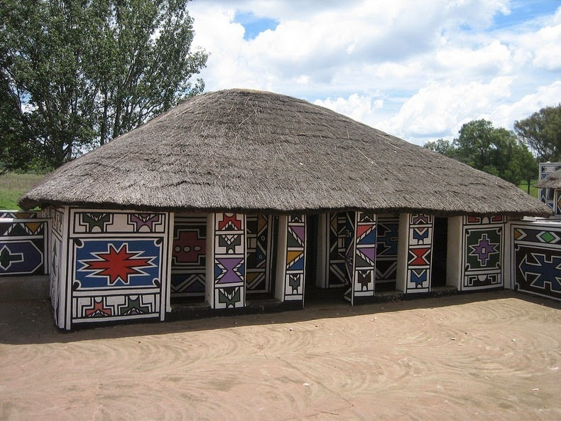 ndebele house painting 17