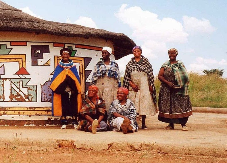 ndebele house painting 2