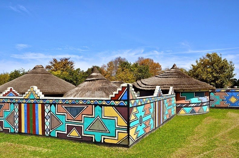 ndebele house painting 3