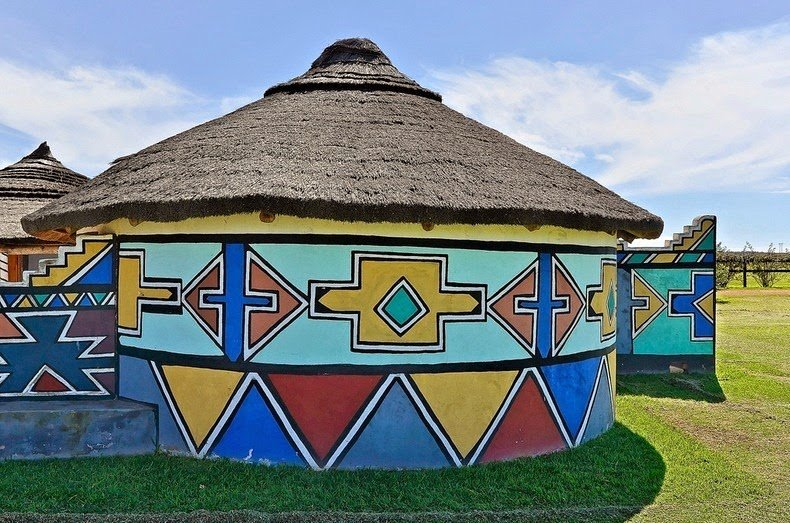 ndebele house painting 6