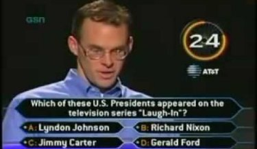 Who wants to be a millionaire, amazing video, super confident, lifelines, John Carpenter, amazing contestant,hilarious,funny
