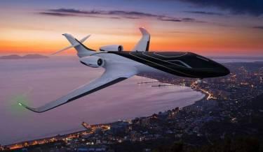 technicon design, concept plane, windowless plane, france, gareth davies, 2014 interntional yacht & aviation award winner, awesome plane, best designed plane photos, parallax barrier technologym, wow, awesome