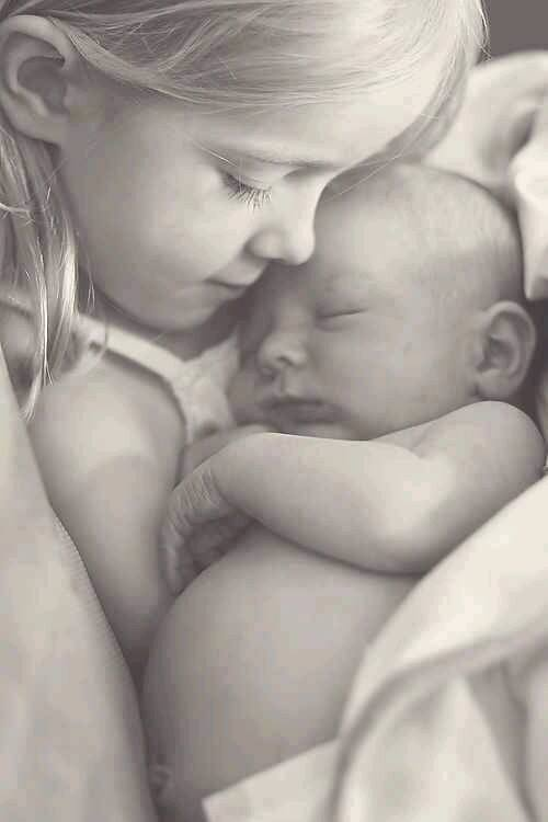 Cute Adorable Photos Showing Sister Sibling Love | Quotes, Saying