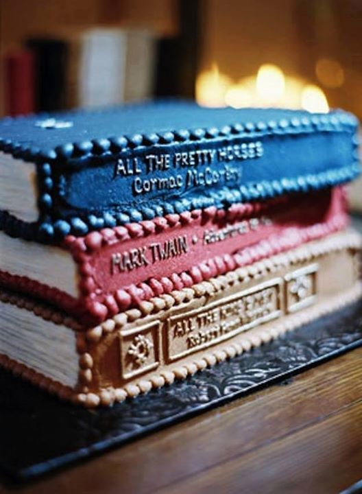 For Books Lover: 8 Photos Of Cake s Inspired From Book s ...