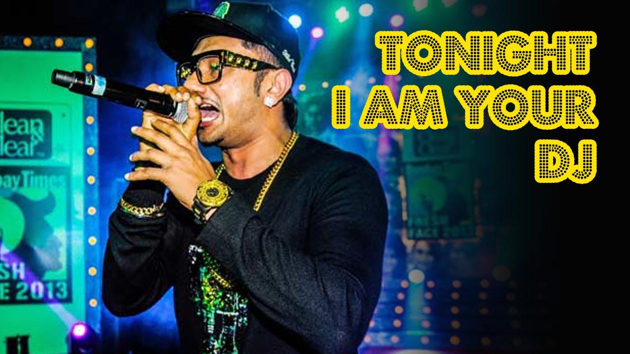 I am your dj tonight
