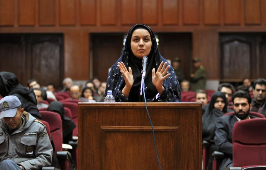 Reyhaneh Jabbari in court