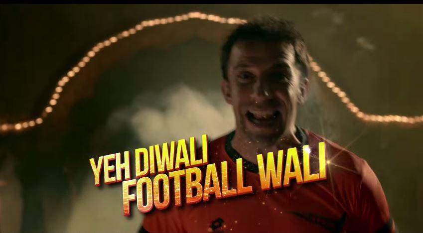 hero isl, isl 2014, indian football league, indian football video, star sports football, india, indian football ads, indian football tvc, latest football tvc india, hero super league, let's Football, bajegi seeti, udega ball, indian soccer, yeh diwali football wali, #heroisl